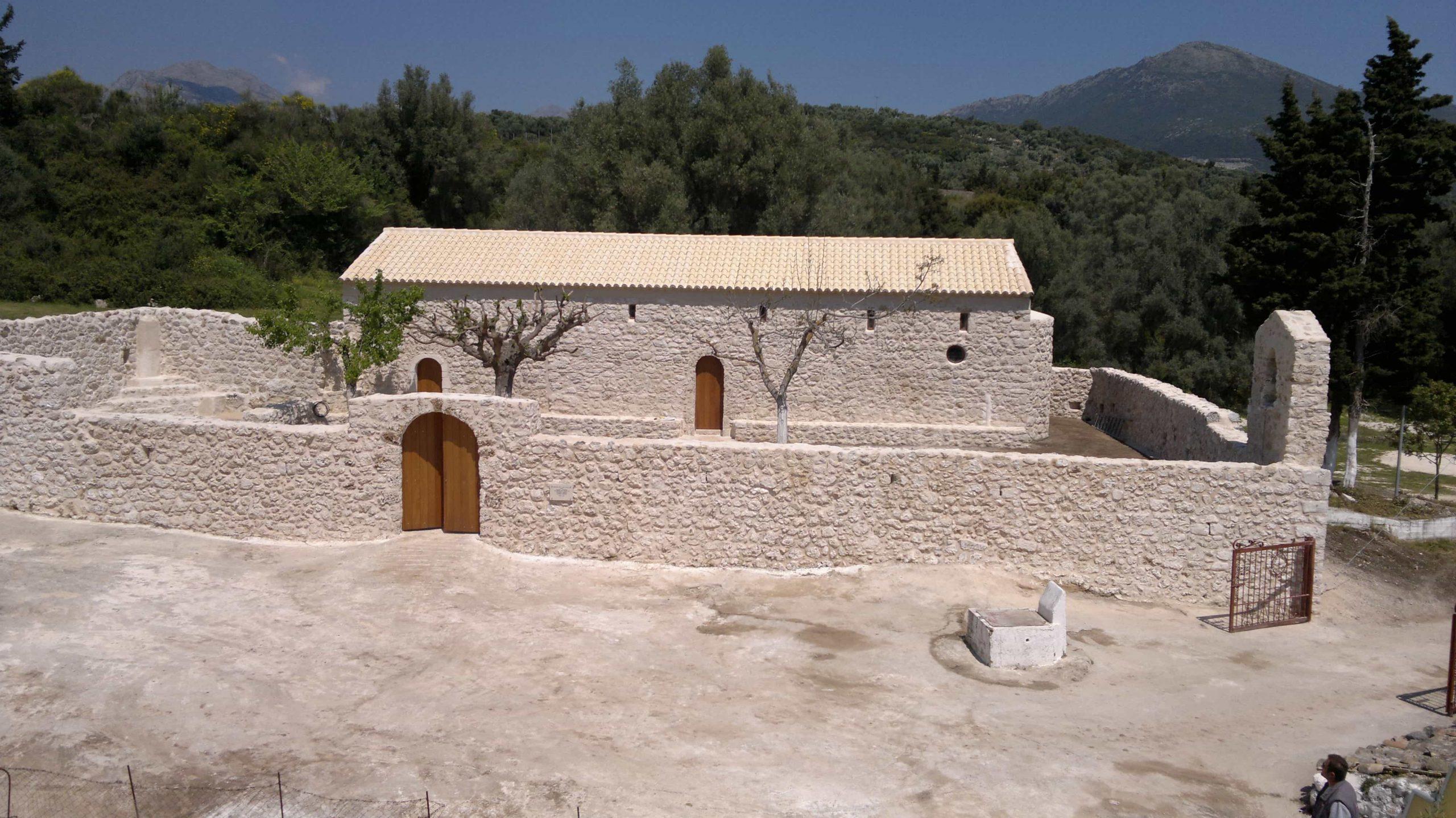 Arcons Monasthri Agiou Georgiou Marantohori Lefkadas 1