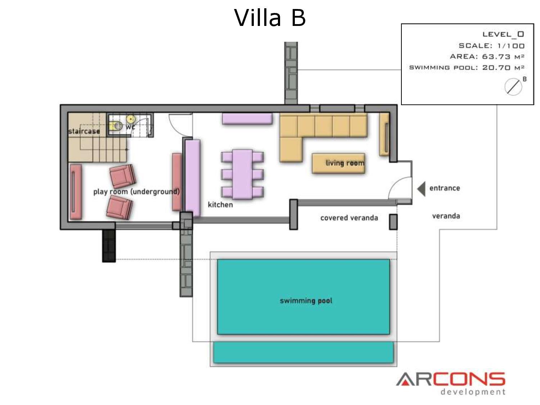 Arcons Development sygkrothma polytelon Villas 13