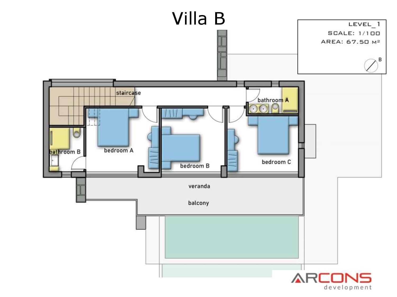 Arcons Development sygkrothma polytelon Villas 14