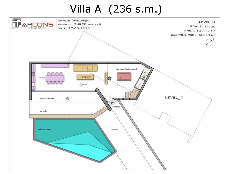 Arcons Development sygkrothma polytelon Villas 9